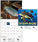 Ocean Glory Spiral Wall Calendars
